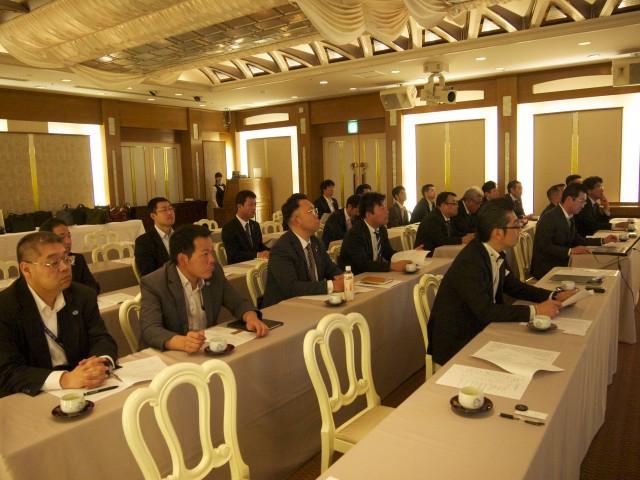 宮城県警備業協会青年部会の通常総会にご招待いただきました。